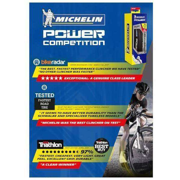 Michelin tyre Michelin Power Competition Clincher Tyre duvolab