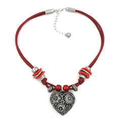 NECKLACE FOR TRADITIONAL COSTUME HEART