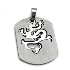 PENDANT FASHION DRAGON STAINLESS STEEL