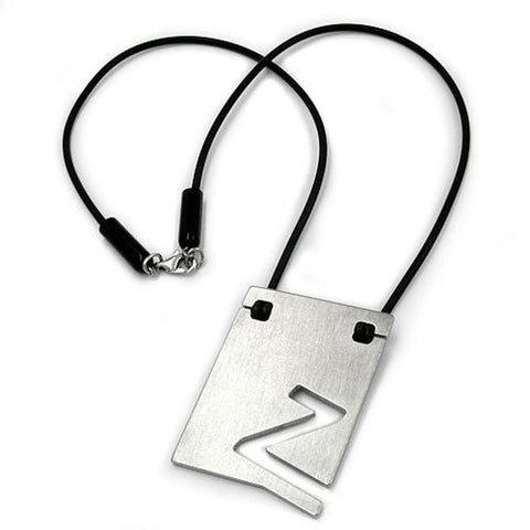 NECKLACE INITIALE Z STAINLESS STEEL 42CM