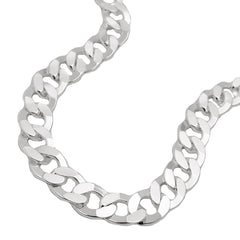 NECKLACE OPEN CURB CHAIN SILVER 925