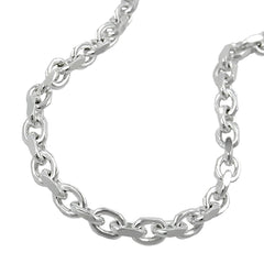 NECKLACE ANCHOR CHAIN SILVER 925 50CM