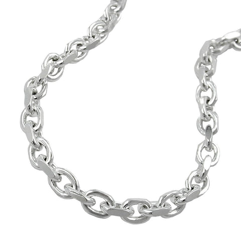 NECKLACE ANCHOR CHAIN SILVER 925 21CM