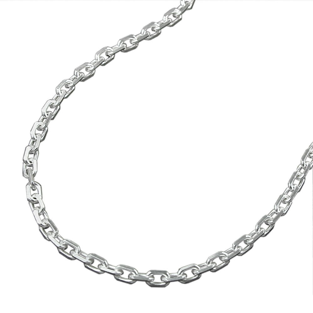 NECKLACE ANCHOR CHAIN SILVER 925 45CM