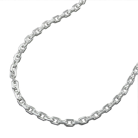 NECKLACE ANCHOR CHAIN SILVER 925 60CM