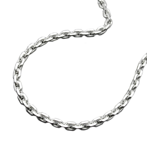 NECKLACE THIN ANCHOR CHAIN SILVER 925 45CM