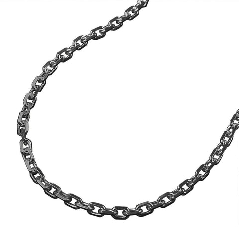 Necklace thin anchor chain silver 925 50cm
