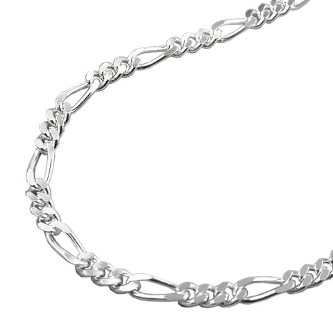 NECKLACE FIGARO CHAIN SILVER 925 50CM