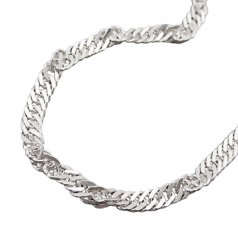 NECKLACE SINGAPORE CHAIN SILVER 925 70CM
