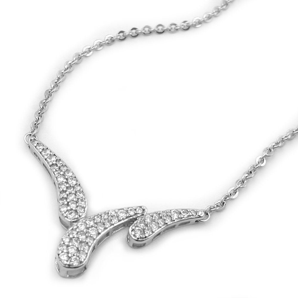 NECKLACE WITH PENDANT SILVER 925 43CM