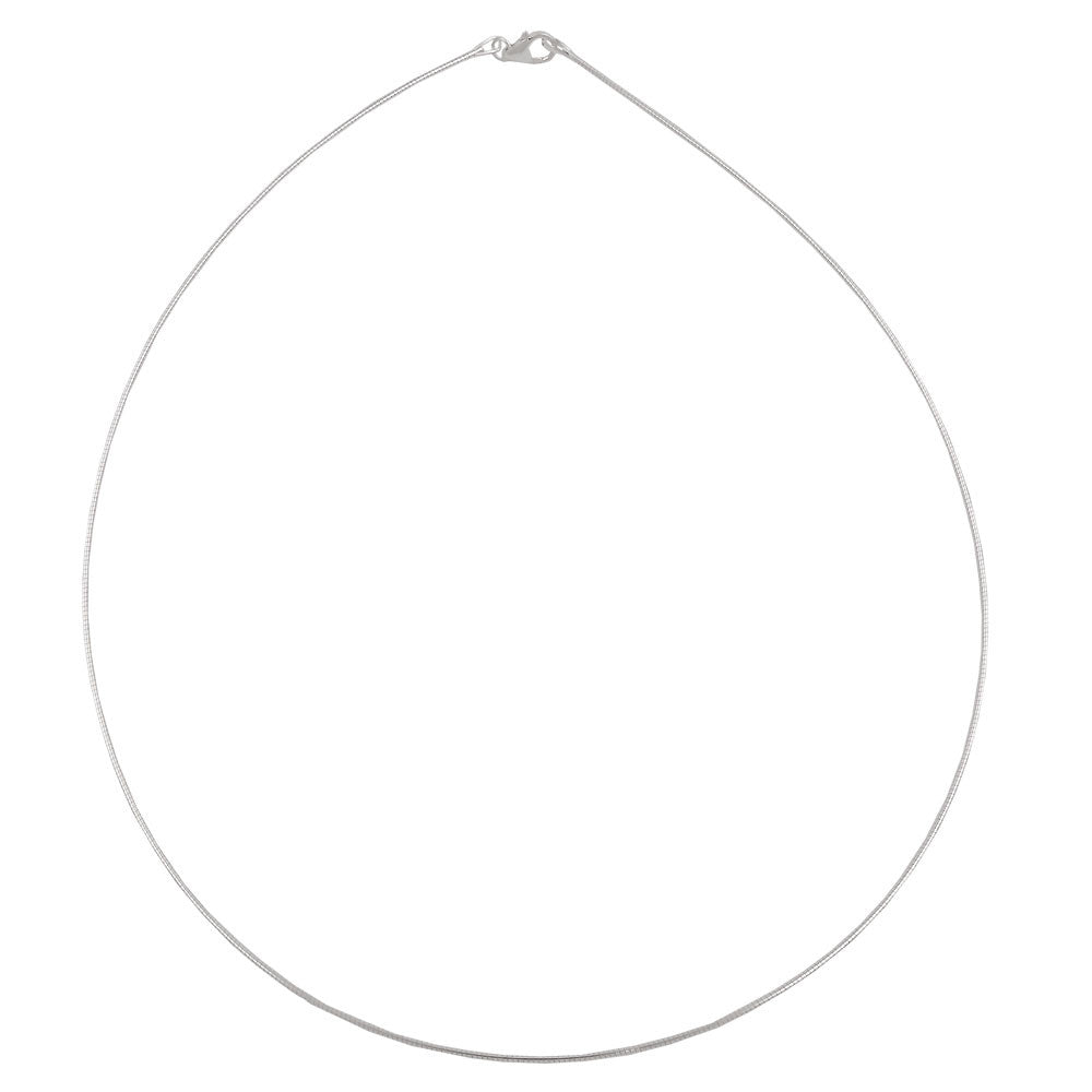 NECKLACE TONDA ROUND CHAIN SILVER 925