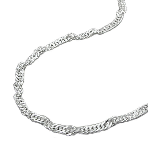 BRACELET SINGAPORE CHAIN 2,4MM SILVER 925 19CM