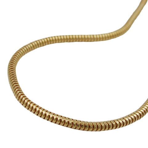 BRACELET 2MM SNAKE CHAIN GOLD PLATED