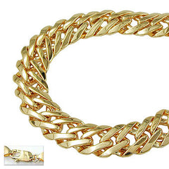 BRACELET FANTASY CHAIN GOLD PLATED 17CM