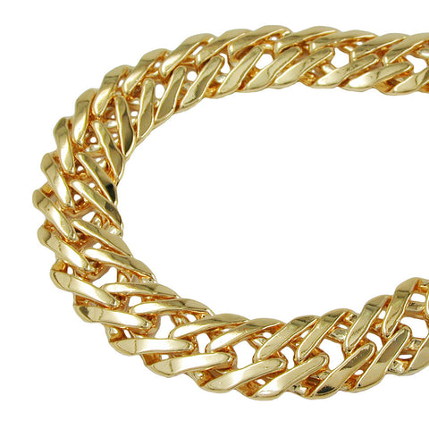 BRACELET FANTASY CHAIN GOLD PLATED