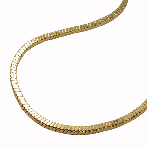BRACELET CUBIC LINK CHAINS GOLD PLATED