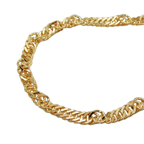 BELLY CHAIN SINGAPORE CHAIN GOLD PLATED