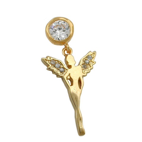 PENDANT FAIRY 3 MICRON GOLD-PLATED