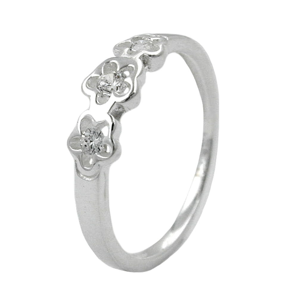 RING FOR CHILDREN ZIRCONIA SILVER 925