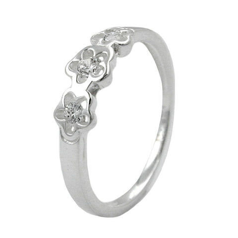 RING FOR KIDS ZIRCONIA SILVER 925