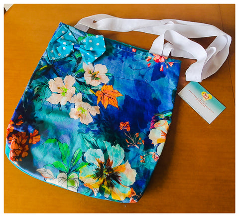 Blue Autumn Shopping bag