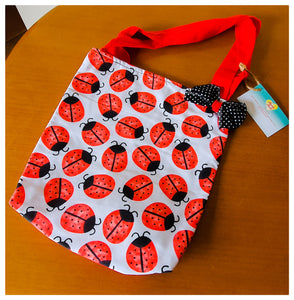 Lady bug Shopping bag