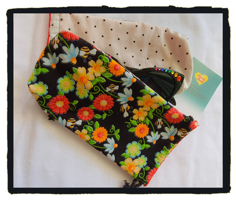 Spring time glasses pouch
