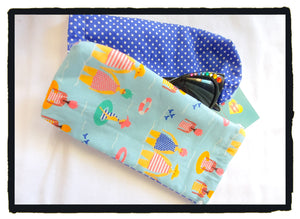 Beach babes glasses pouch