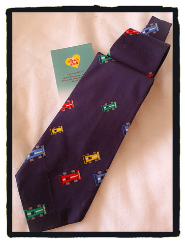 Car race neck tie
