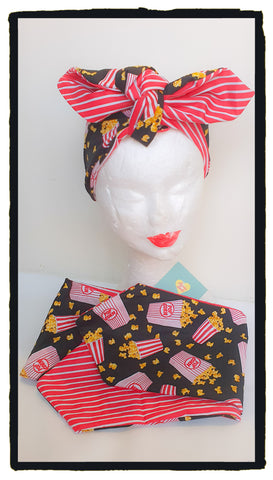 Popcorn Reversible headband (New design)