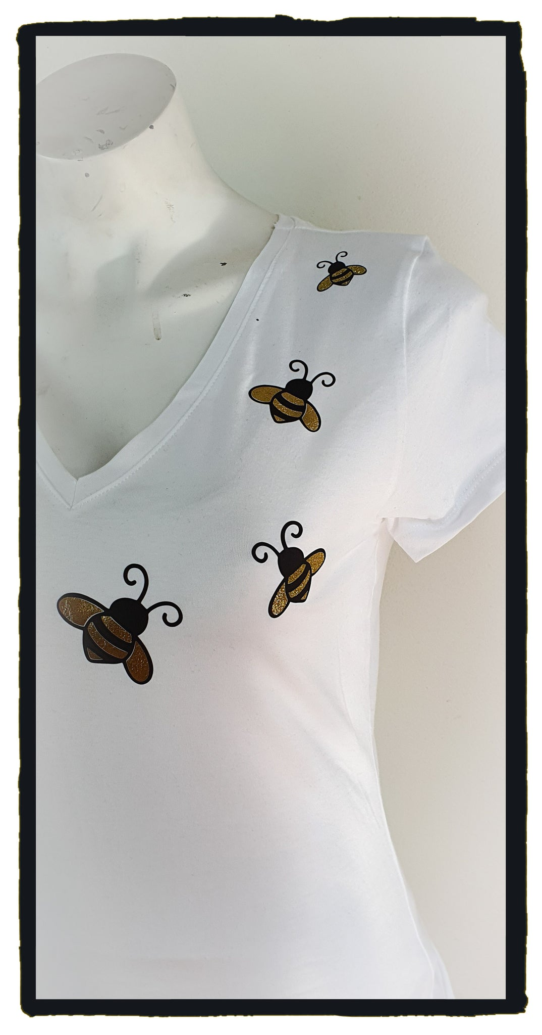 Busy bees white (Size 14)