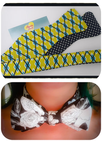 Retro reversible bow tie