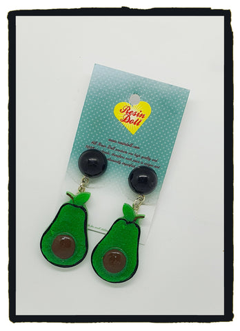 Avo drop earrings