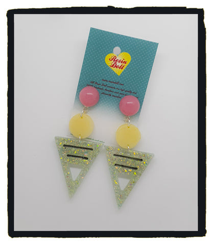To the point drop earrings (new design)