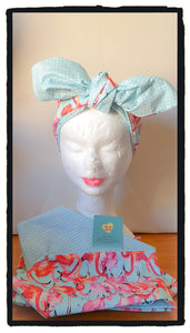 Flamingo Reversible headband (New design)