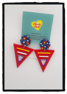 Primary Odd-bodd To the point drop earrings