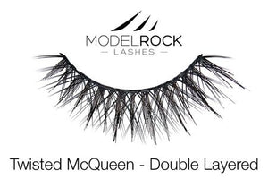 Model Rock **Twisted McQueen ** Lashes