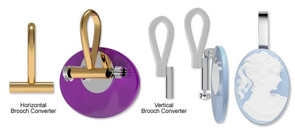 Vertical brooch converter