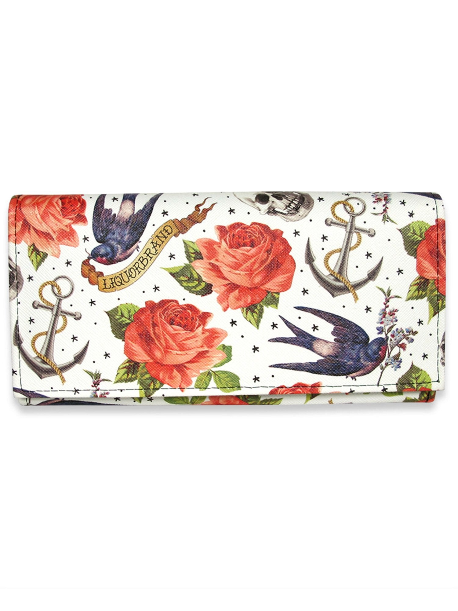 Rose tattoo Wallet