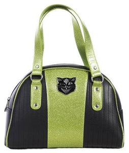 Jinx Tuck n Roll bag in lime Green