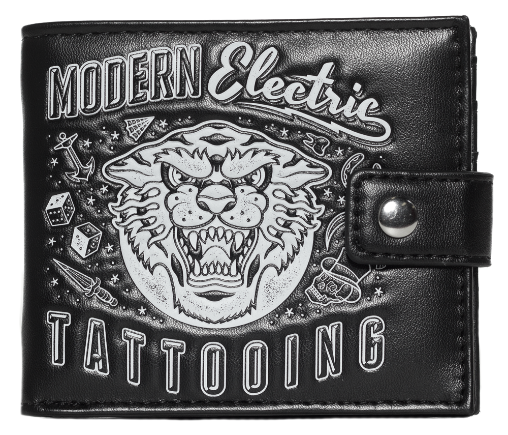 Kustom Kreeps Modern Tattoo wallet