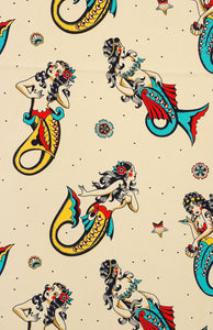 Mermaids rosie headscarf