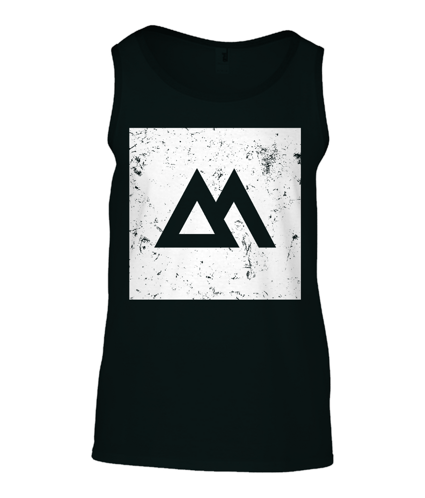 Anvil Fashion Basic Tank Top Magneto Square print - Longboard, Longboards, long board