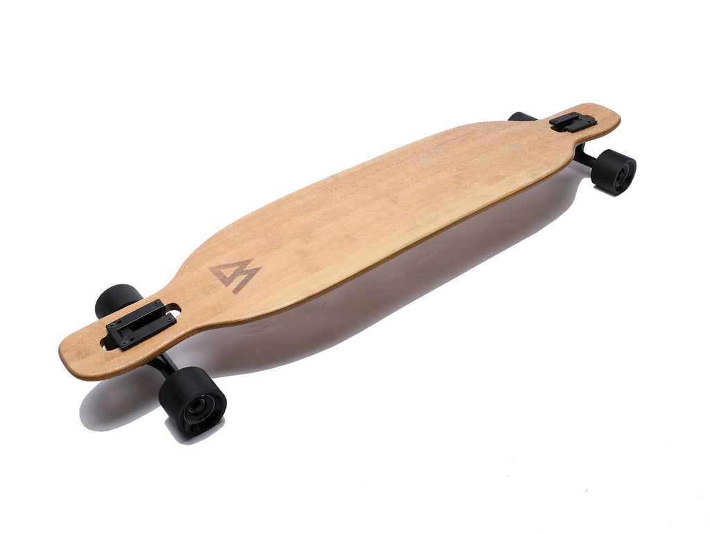 Bamboo & Fiberglass Drop through Longboard  by Magneto - Longboard, Longboards, long board