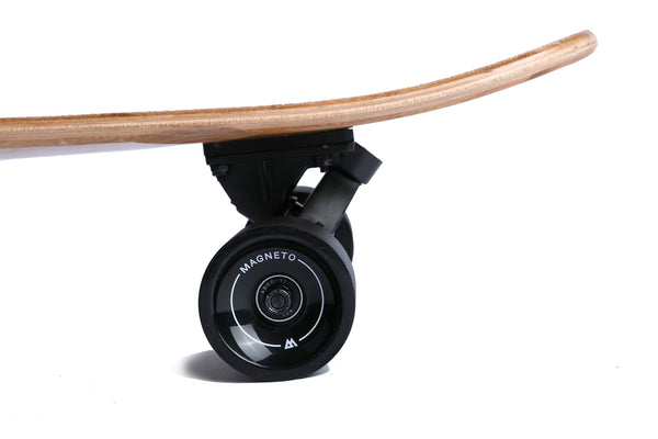 "The 44"" Super Cruiser Bamboo and Carbon infused Longboard by Magneto - Magnetolongboarding - 4"