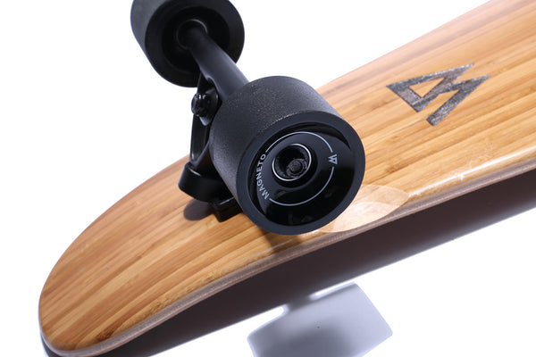 "The 44"" Super Cruiser Bamboo and Carbon infused Longboard by Magneto - Magnetolongboarding - 6"