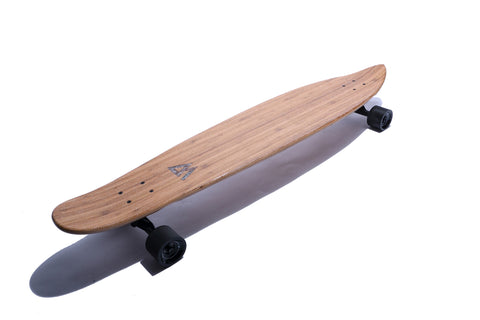 "The 44"" Super Cruiser Bamboo and Carbon infused Longboard by Magneto - Magnetolongboarding - 1"