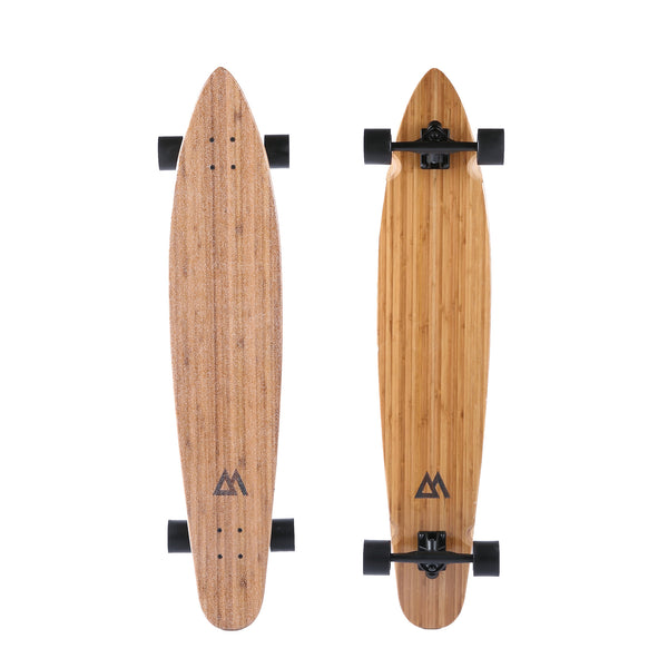 "The 44"" Super Cruiser Bamboo and Carbon infused Longboard by Magneto - Magnetolongboarding - 3"