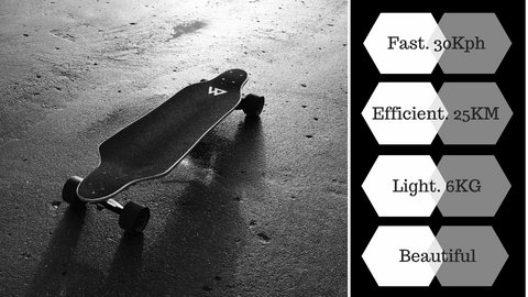 Magneto electric Skateboard