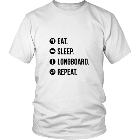Eat sleep Longboard, repeat - Longboard, Longboards, long board